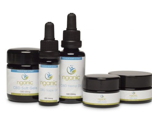 cbd products nganic